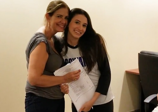 Welcome Broward's newest homeowner, Tori Suess!