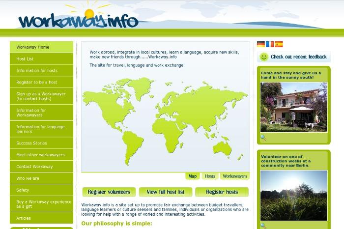 Workaway.info 2012