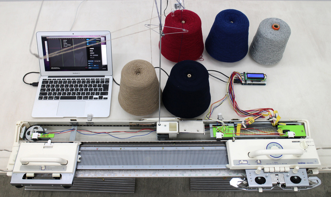 GlitchKnit Knitting Machines Hack