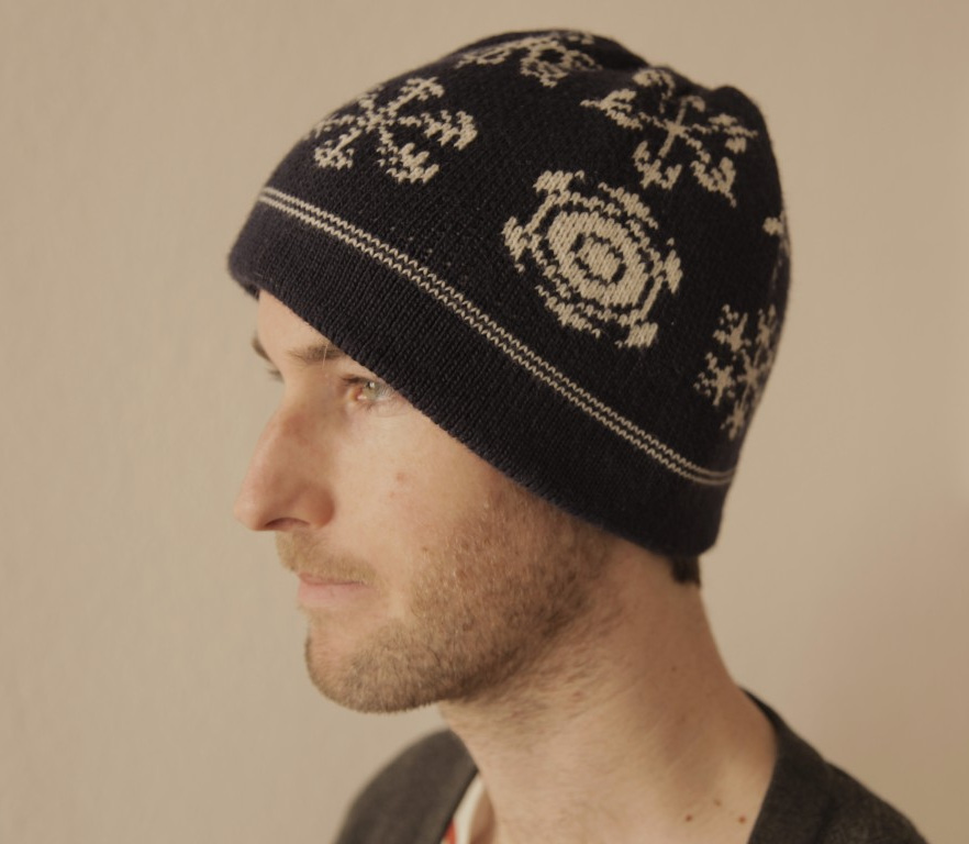 Knitting Hat from Brother Knitting Machines