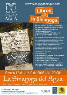 cartel-LIBROS-en-la-sinagoga-Sinagoga-del-Agua