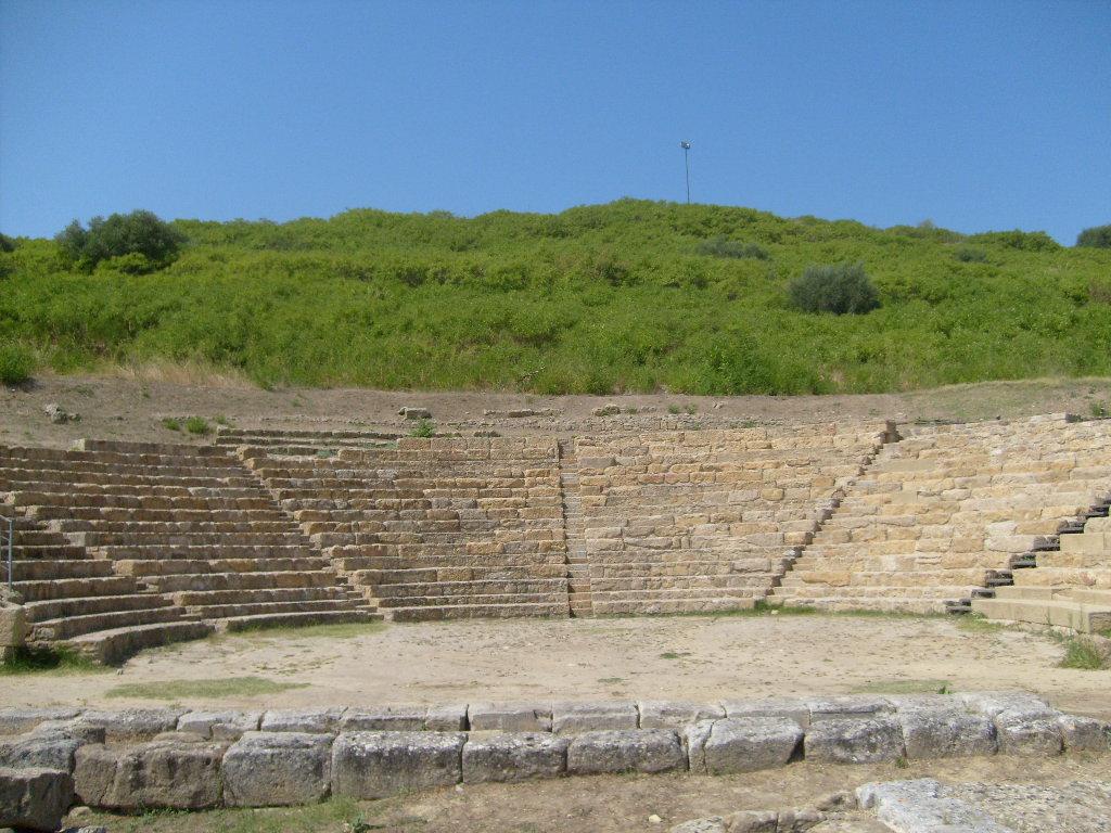 Morgantina teatro