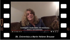 06. Entrevista a Marie Helene Brousse