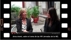 Entrevista a Anna Aromi sobre las Jornadas de la NEL, lo femenino no solo es cuestión de mujeres.