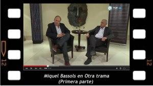 Miquel Bassols en el programa de la televisión argentina Otra Trama 1