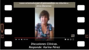 Discusiones Clínicas. Responde Karina Pérez