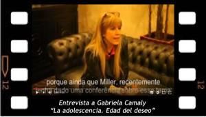 Entrevista a Gabriela Camaly. La adolescencia edad del deseo.
