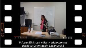 Psicoanálisis con niños y adolescentes desde la orientación lacaniana 2