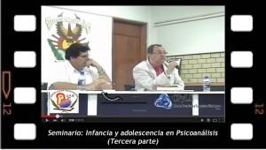 Seminario Infancia y adolescencia 3 Pronunciado en la Universidad Autónoma de Sinaloa, México