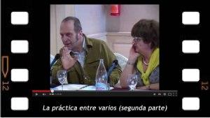 """Conferencia de Bruno de Halleux sobre """"La práctica entre varios"""". Segunda parte"""