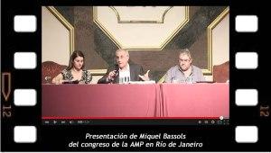Miquel Bassols. Primera parte presentación del Imperio de las Imágenes