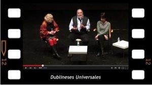 Dublieses Universales. Presentación de James Joyce con Jorge Larriega