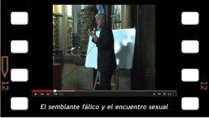 El semblante fálico y el encuentro sexual, conferencia de Juan Carlos Indart