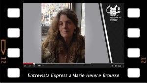 Entrevista Express a Marie Helene Brousse sobre el XI Seminario del CIEG. ¿Cómo vivimos hoy?