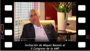 Invitación de Miquel Bassols al X Congreso de la Asociación Mundial de Psicoanálisis