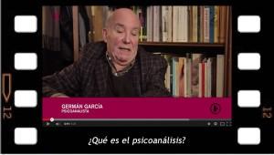 Germán García responde ¿Qué es el psicoanálisis?