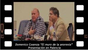 """Domenico Cosenza """"El muro de la anorexia"""" Presentación en Palencia"""