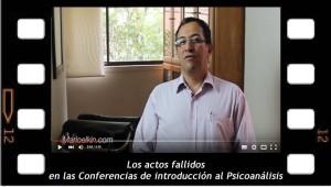 Los actos fallidos en las Conferencias de Introducción al Psicoanálisis
