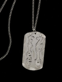 'Zu-Tag' pendant designed by Zulu .