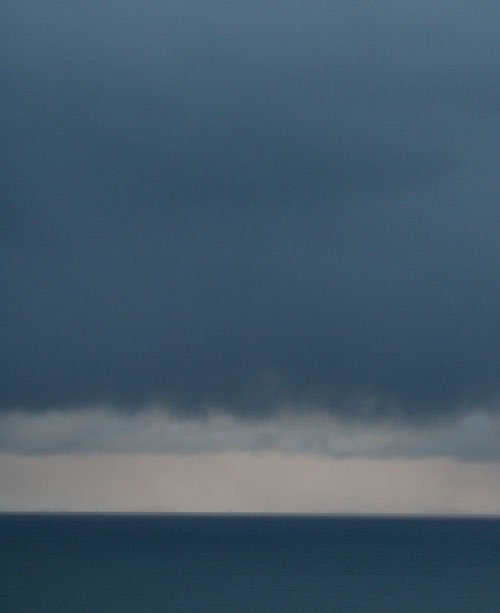 Rothko painting colours in the clouds