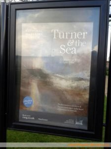 Turner and the Sea exhibition Maritime Museum London