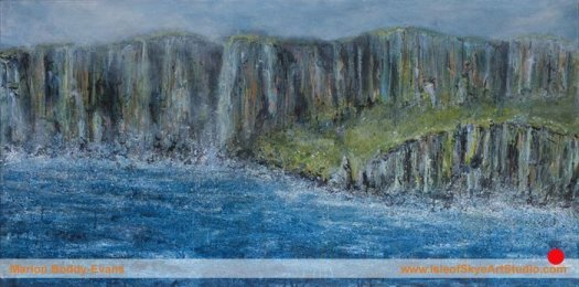 Edge of Skye painting by Marion Boddy-Evans