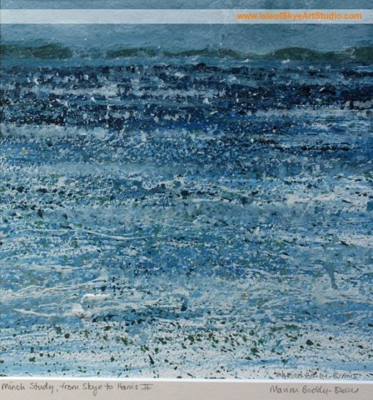 Minch Study, from Skye to Harris II, by Scottish Artist Marion Boddy-Evans