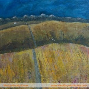 Isle of Skye roads painting