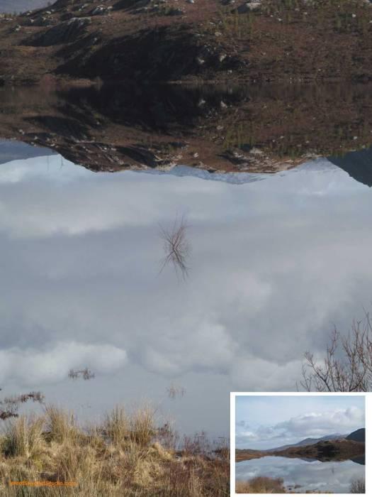 Reflections Cluanie Dam