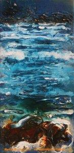 Ebb & Flow Study painting seascape
