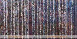 Winter Wears Purple Tree painting y Skye Scotland artist Marion Boddy-Evans