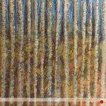 Summer Wears Gold Tree painting by Skye artist Marion Boddy-Evans