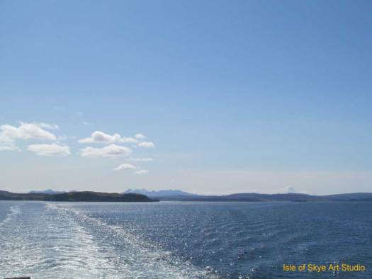 Uig to Stornoway Ferry Trip: Cuillin