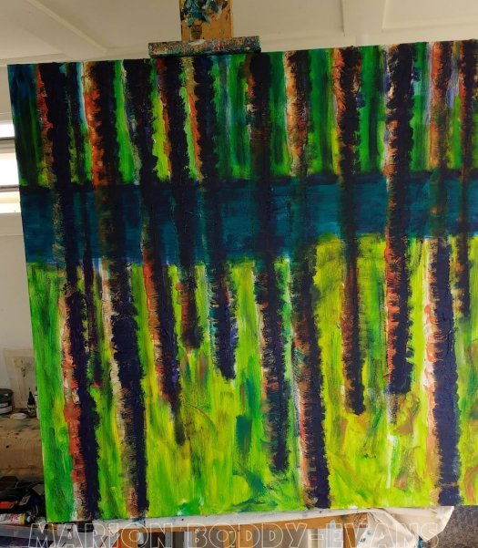 WIP Tree Painting May2016