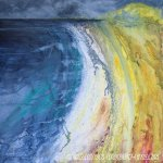Coral Beach Skye Painting by Marion Boddy-Evans