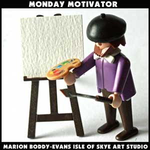 Monday Motivator: Let the Painting Speak