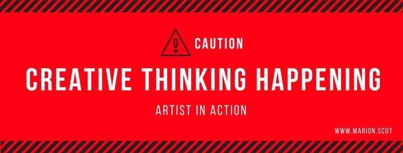 Quote Caution Creative Thinking