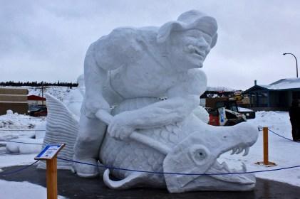 Snow Sculpture Contest