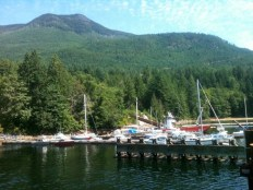 Almost on Savary - Saltery Bay