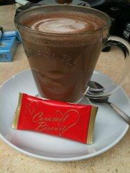 Italian hot chocolate (spiked)