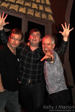 Pearce Visser, Scott Patey, Ken Lawson of Buns-A-Glazin'