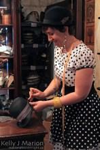 Amelia Ewart, Shopkeeper, Goorin Bros.