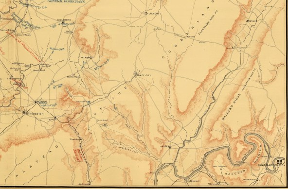 1891 Middle Tennessee Campaign