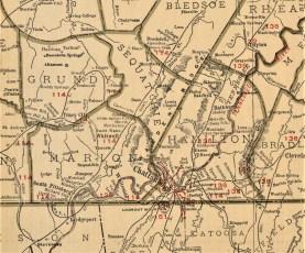 1924 Rand McNally Atlas Plate 2