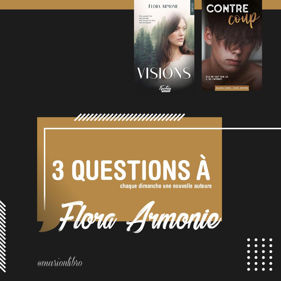 Flora Armonie auteure interview