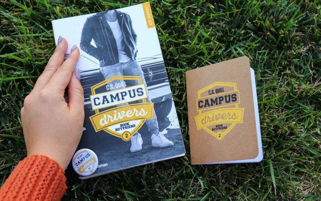 Campus Drivers #2 Bookboyfriend – C.S. Quill