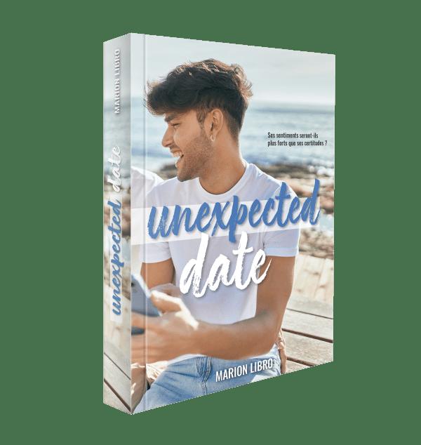 Unexpected date Marion Libro livre papier