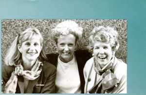 Early image of Marion McGovern with partners of M Squared