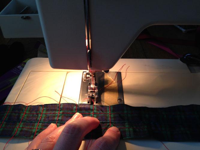 Marion-creating-a-clan-tart
