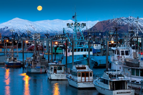 Kodiak, Alaska, moon, full moon, moonrise, photography, photographs